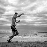 biegnący człowiek